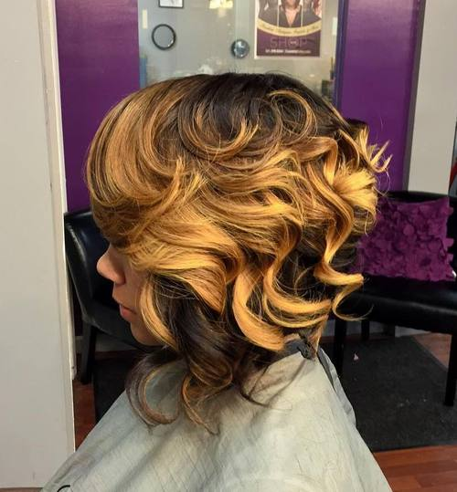 Remarkable Sew Hot 30 Gorgeous Sew In Hairstyles Short Hairstyles For Black Women Fulllsitofus