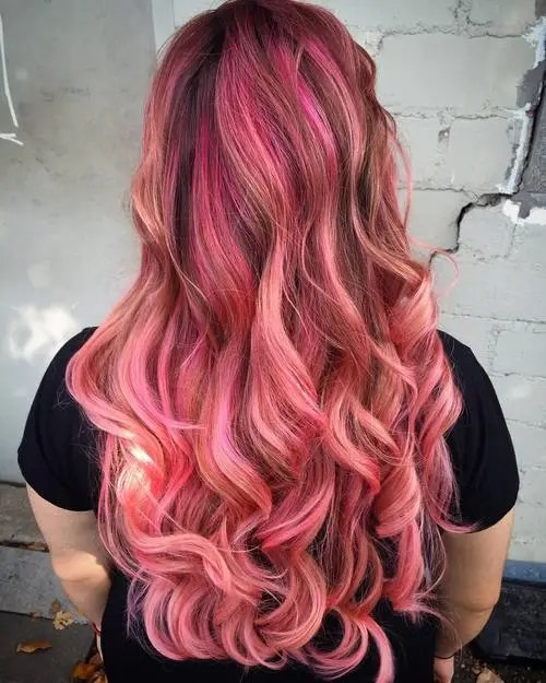 40 Best Pink Highlights Ideas For 2019