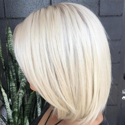 platine idees couleur cheveux blonds