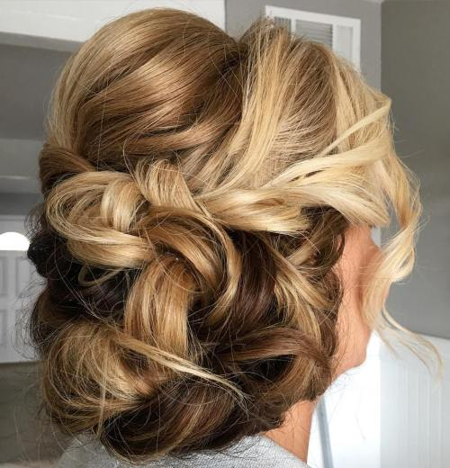 Loose Messy Updo For Long Hair