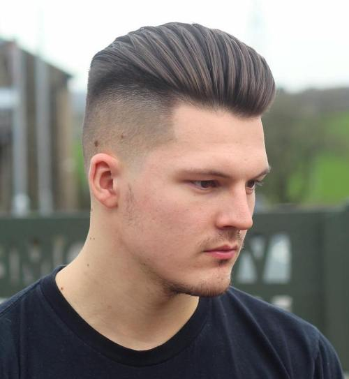 Long Top Undercut For Men