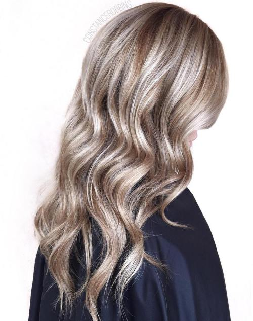 40 ideas of gray and silver highlights on brown hair silver balayage for light brown hair pmusecretfo Image collections