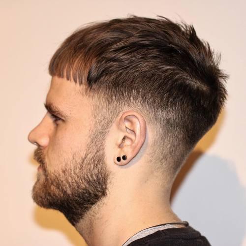 tapered Caesar Haircut