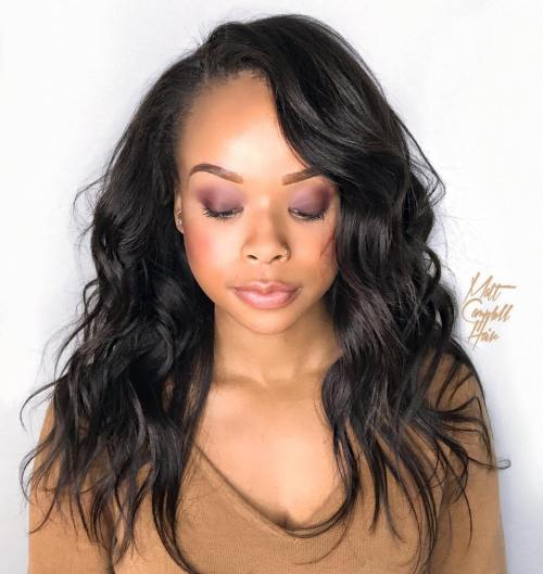 Long Layered Sew-In Hairstyle