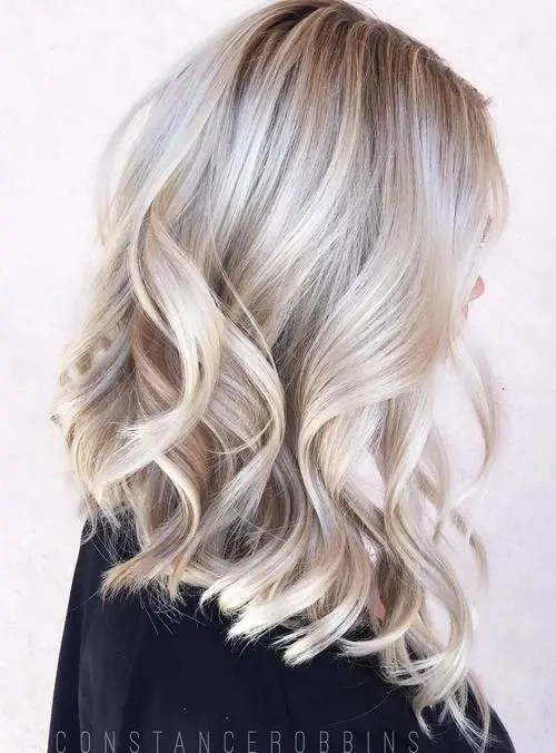 hair color ideas for blondes 2015. 40 hair Сolor ideas with white and platinum blonde color for blondes 2015