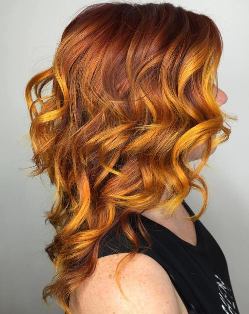 Hair in the yellow hair category of hair color yellow brown pravana neon yellow fancyfollicles pmusecretfo Image collections
