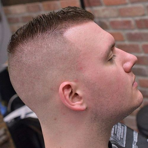 Shaved high and tight