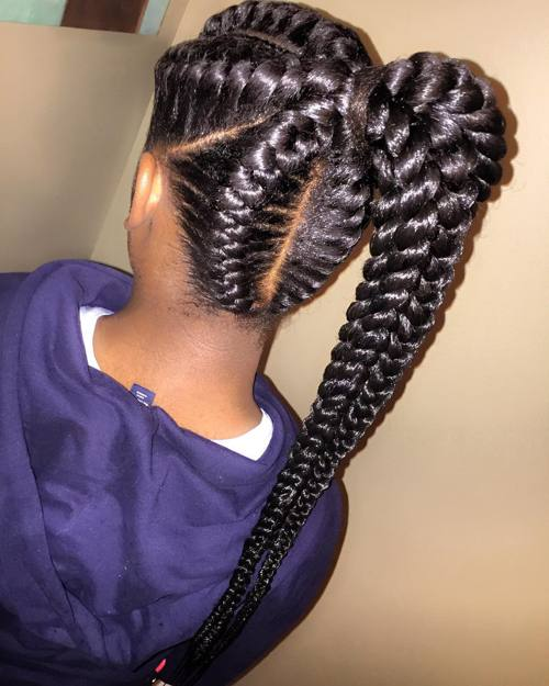 Awesome 40 Inspiring Examples Of Goddess Braids Hairstyles For Women Draintrainus