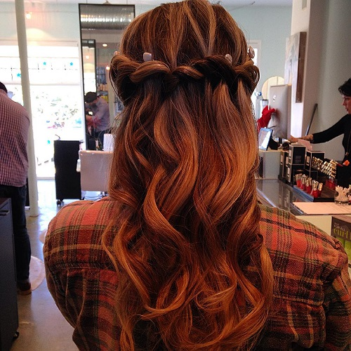 20 Flowing Waterfall Braid Styles