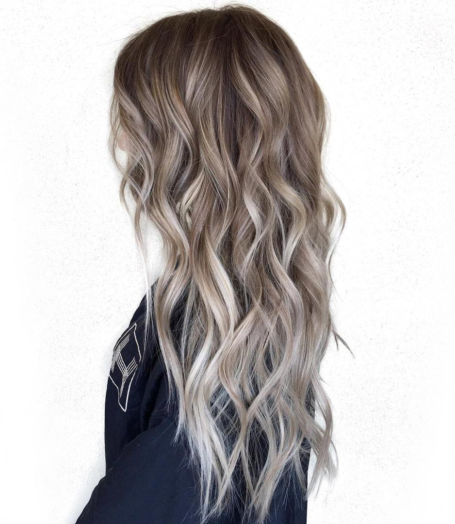 Winter Hair Colors Highlights Worksheet Coloring Pages