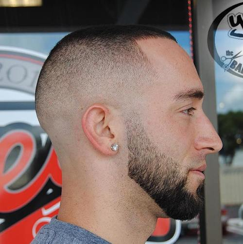 extra short skin fade haircut