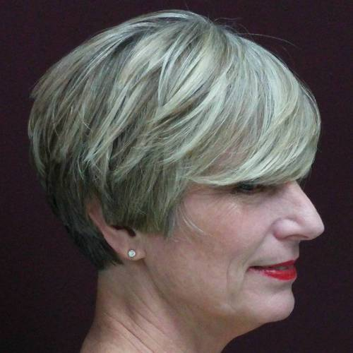wedge haircuts for gray hair 20 wonderful wedge haircuts 3301