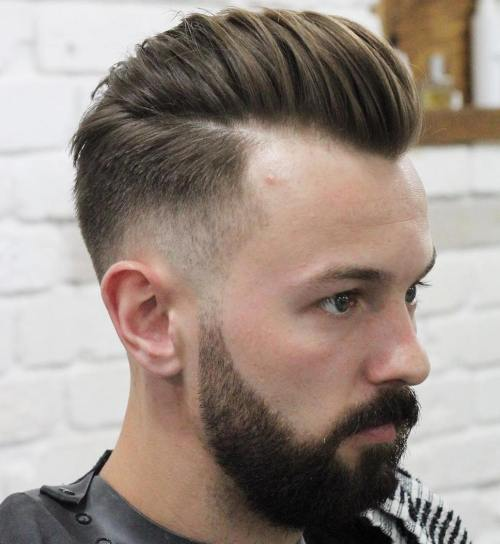 Taper Fade With Long Top