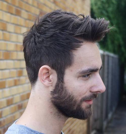 men's quiff hairstyle