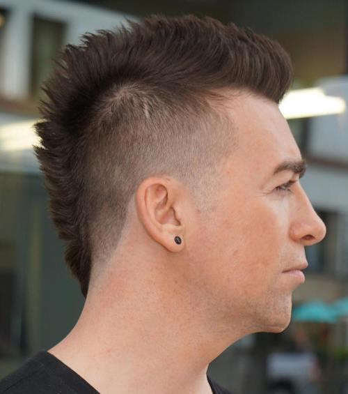 Mohawk For Receding Hairline