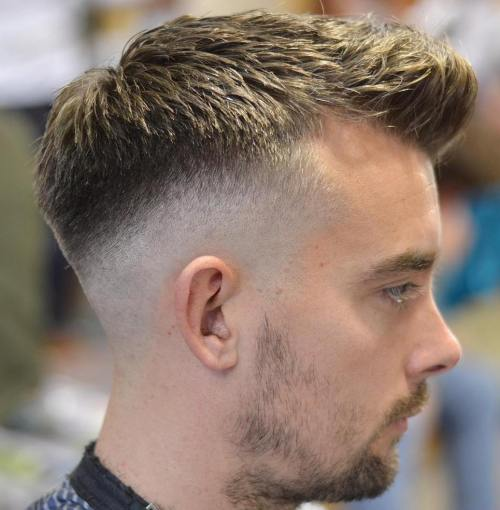 Spiky Cut With Drop Fade