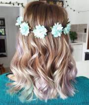 fresh teal hair color ideas