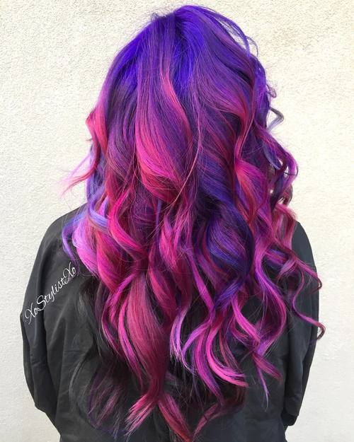 and black hair dye styles 20 gorgeous mermaid hair ideas from vibrant to pastel 3625