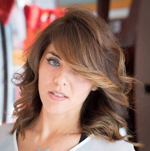 Brown Hair With Honey Blonde Balayage