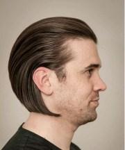 trendy slicked hair styles