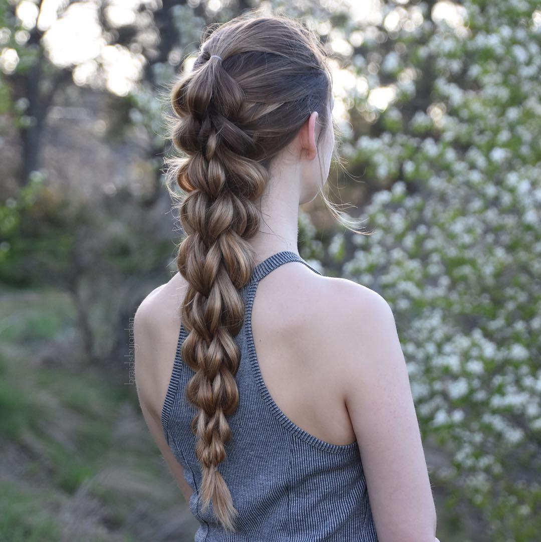 Dimensional Pull Through Braid