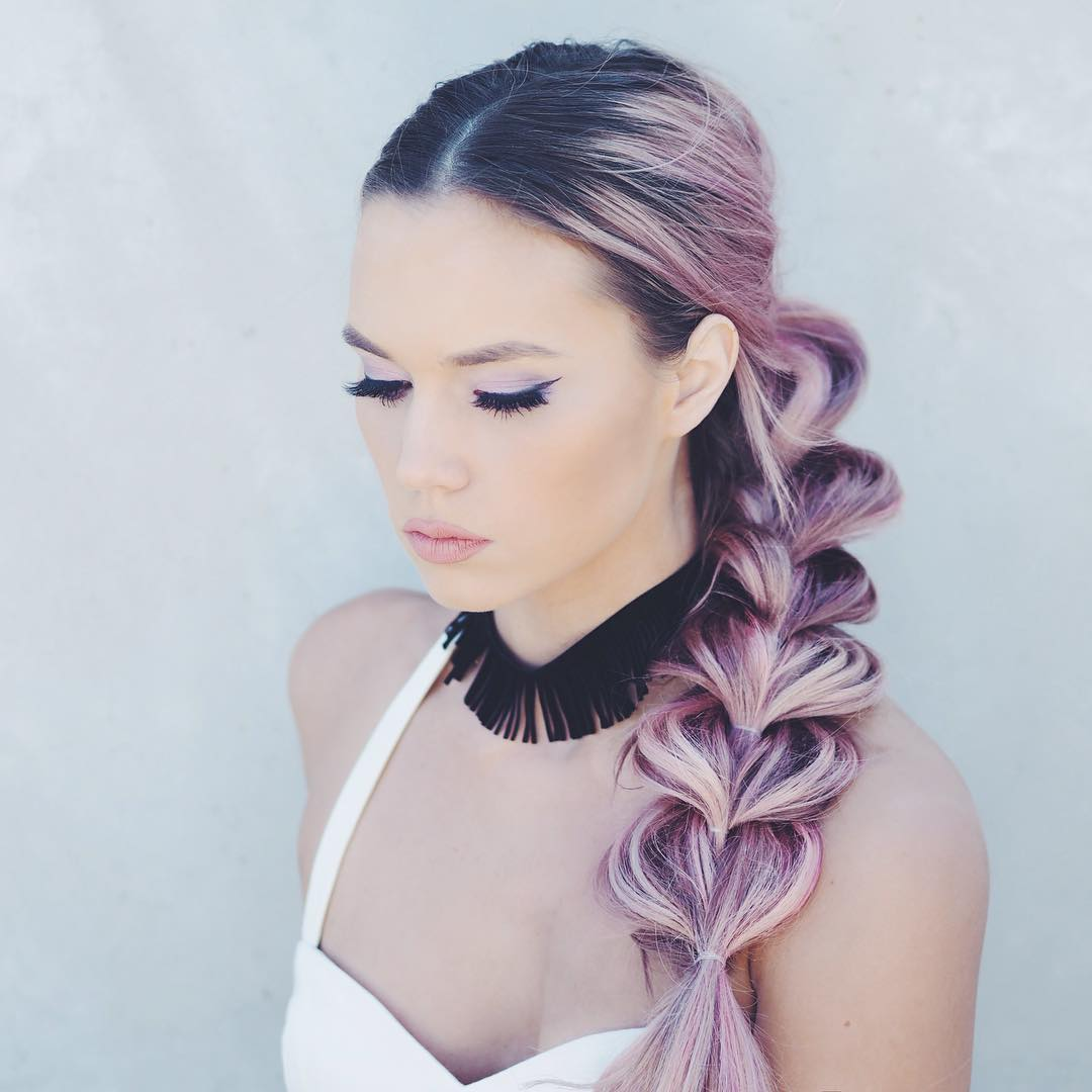Pull Through Braid For Balayage Hair