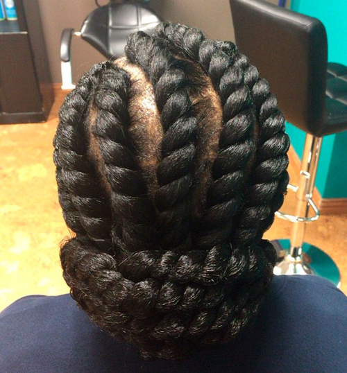 Chunky Flat Twists