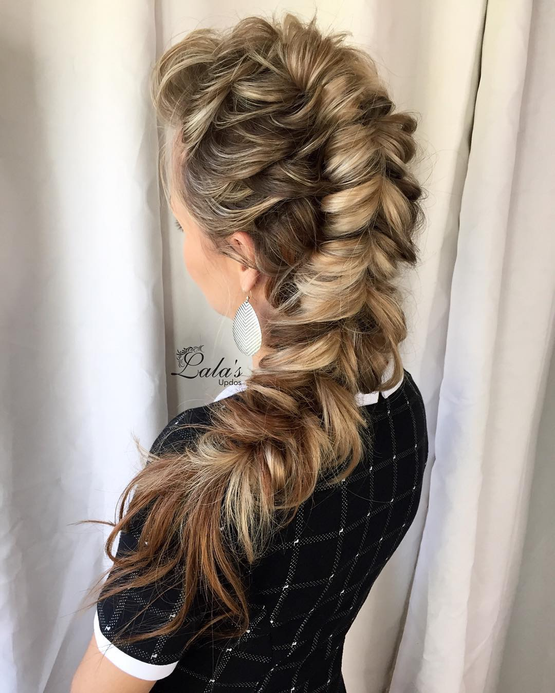 20 Ways To Style A Pull Through Braid 2018 Definitive Guide