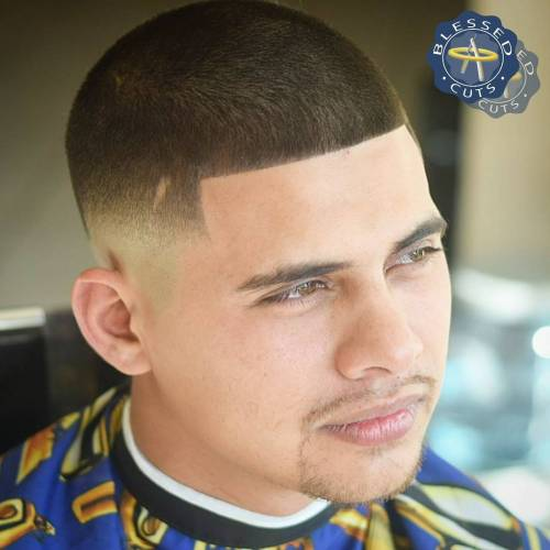 Extra Short Line Up Fade