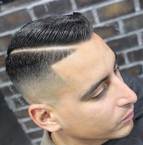 20 ultra clean line up haircuts for Tattoo hair line