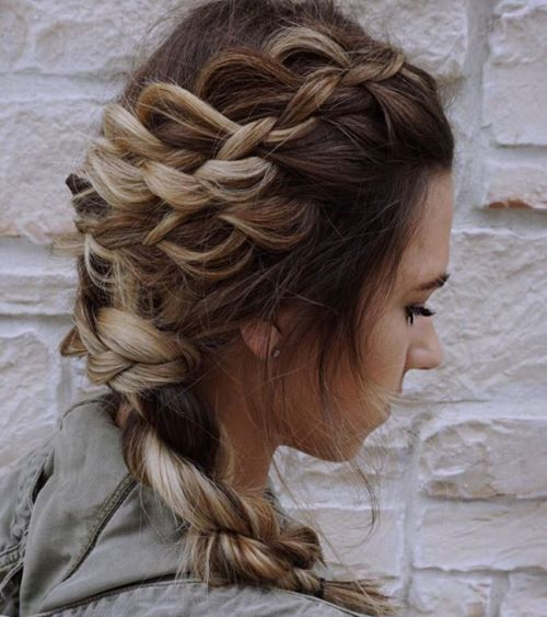 Rope Braid Hairstyles (20 Cute Ideas For 2020