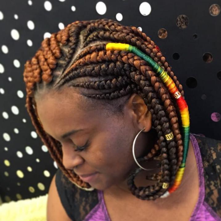 bob braids in The hair