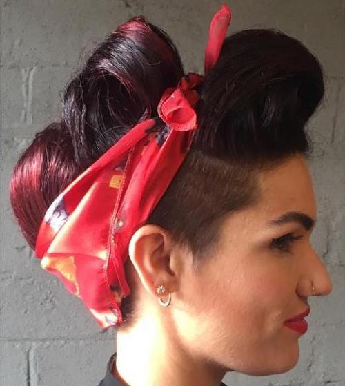 20 Gorgeous Bandana Hairstyles for Cool Girls 8463eef1342