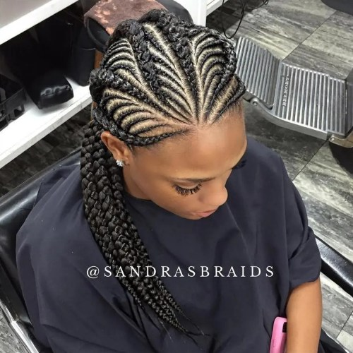20 Gorgeous Ghana Braids for an Intricate Hairdo in 2018