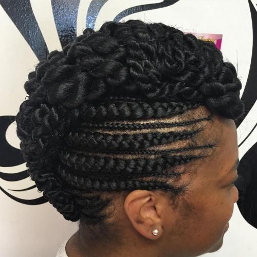 20 Gorgeous Ghana Braids For An Intricate Hairdo In 2020
