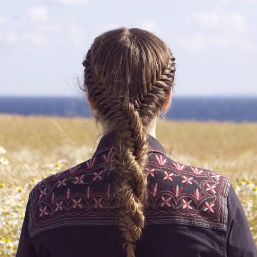 Fishtail Twist Hairstyle