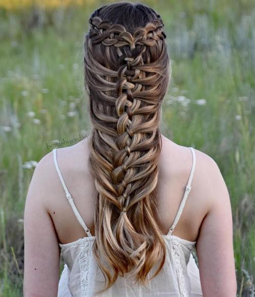 20 Magical Ways To Style A Mermaid Braid