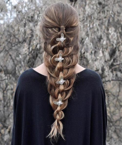 Mermaid Braid With Chain Braid