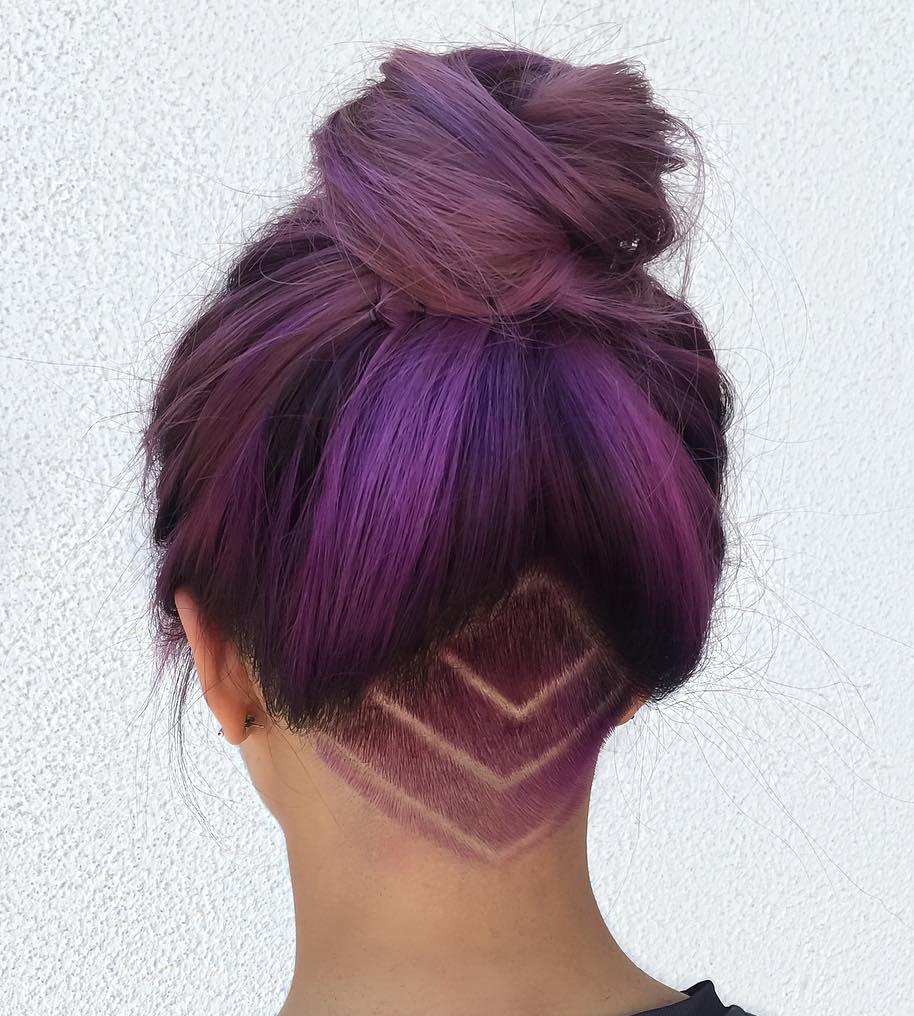 20 Undercut Hair Tattoo Ideas for Girl