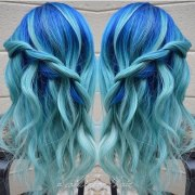 icy light blue hair ideas