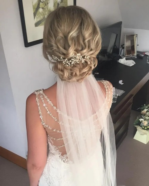 Wedding Hair Loose Up Style: Top 20 Wedding Hairstyles For Medium Hair