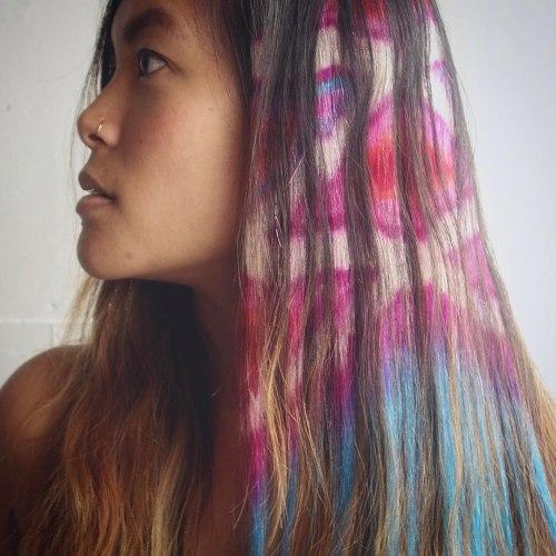 Tribal Hair Stencil