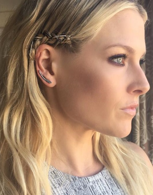 Pierced Braided Ear Cuff