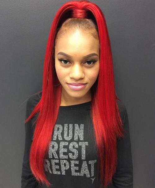 The 20 most alluring ponytail hairstyles african american weave ponytail pmusecretfo Image collections