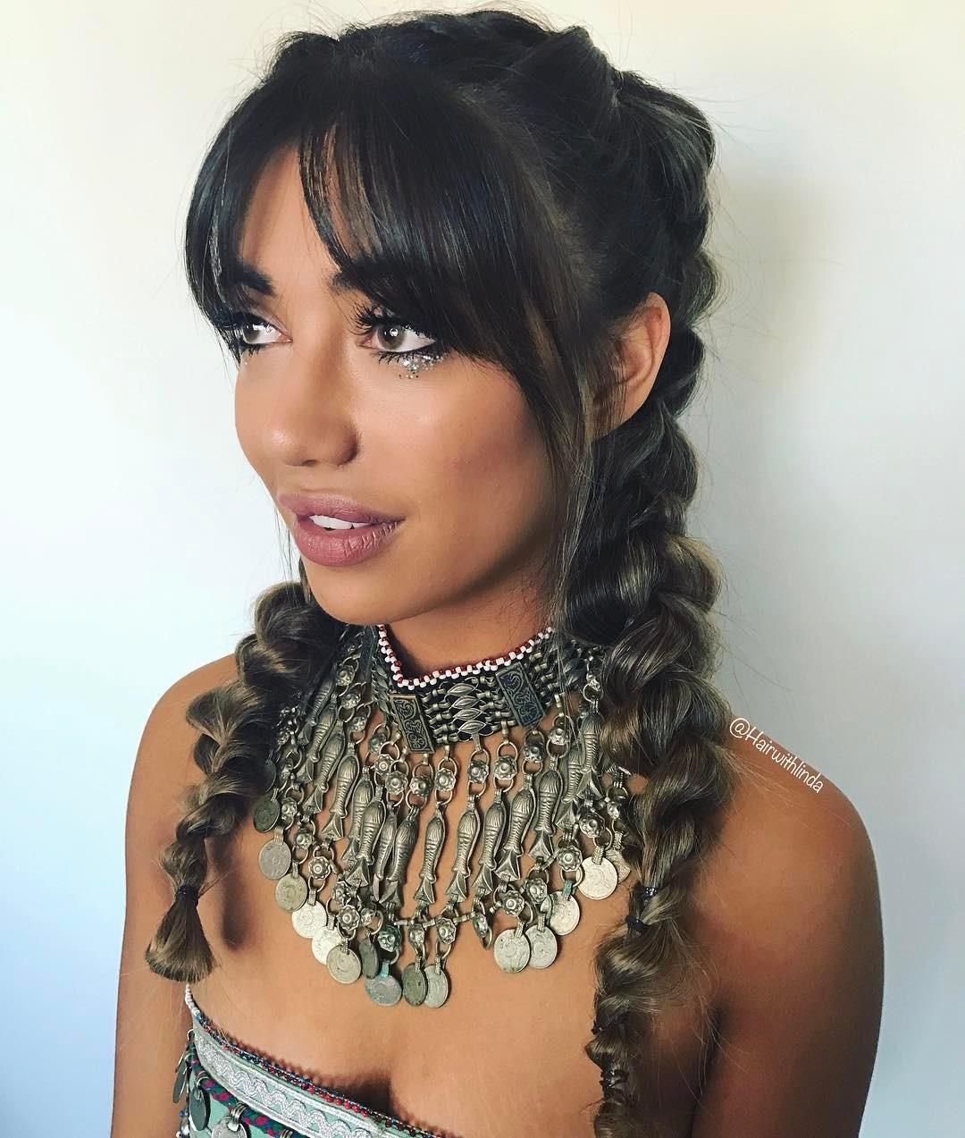 Glamorous Twisted Braids
