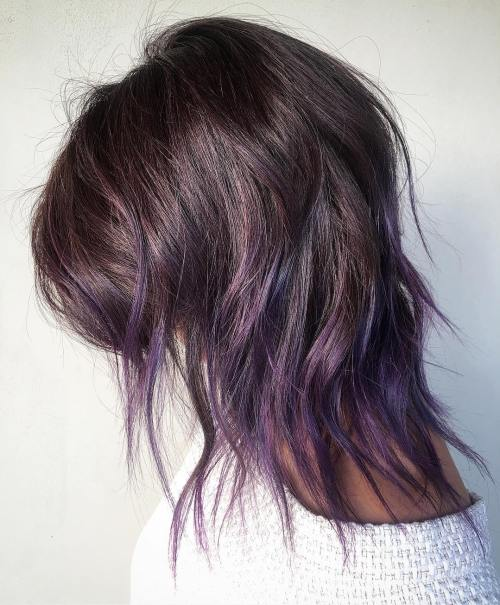 lilac plum highlights