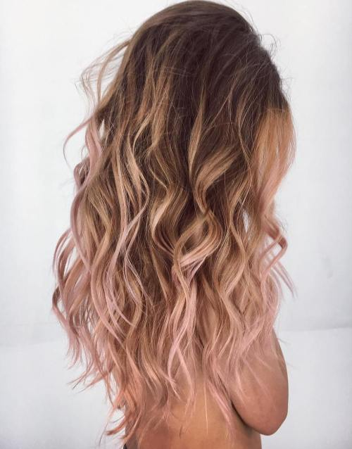 20 Rose Gold Hair Color Ideas Tips How To Dye Salon