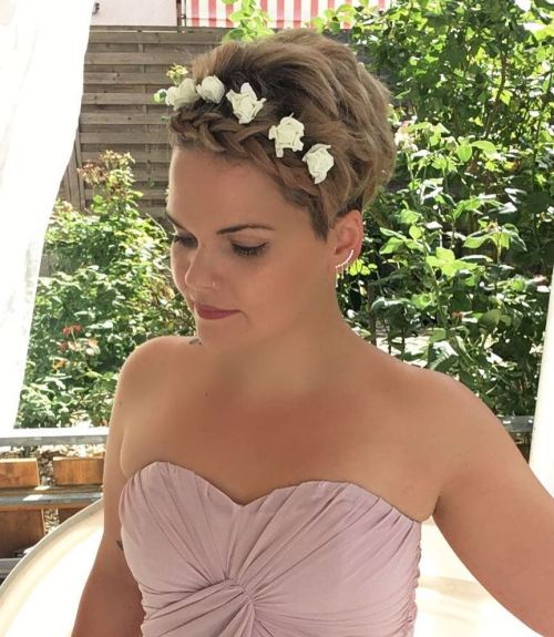 Wedding Pixie Hairstyle
