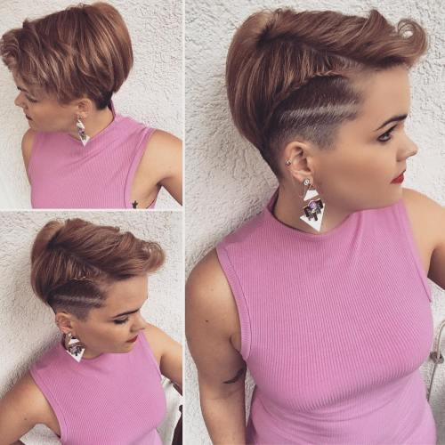 Pixie Hawk With Side Braid