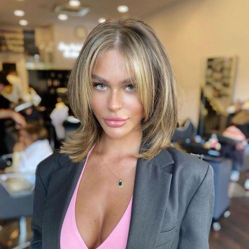 Modern Rachel Haircut